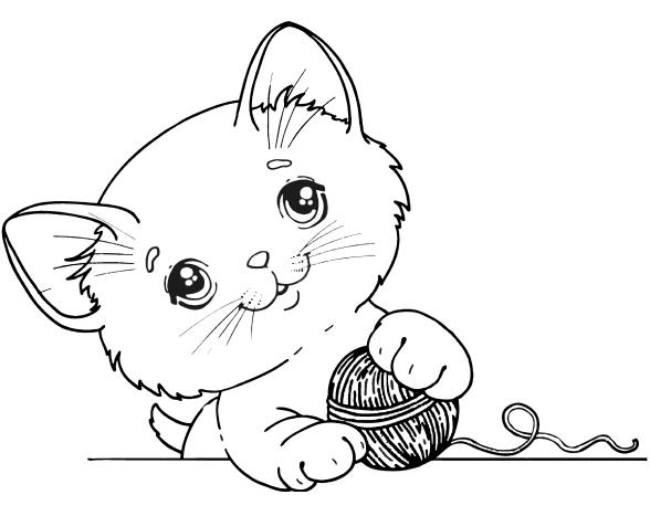 Большой набор кошек - Распечатать или скачать бесплатно