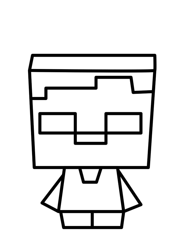 Minecraft Coloring Book - Razukraski.com