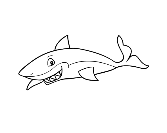Раскраски Акула - 120 изображений. Самая большая коллекция картинок. Скачать или распечатать бесплатно.