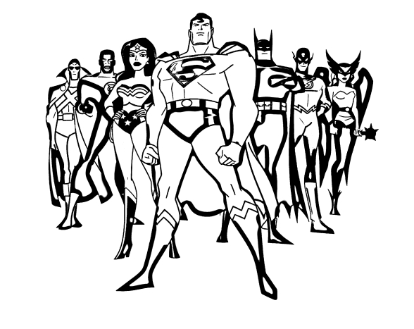 Супергерои - 150 раскрасок - самая большая коллекция. Распечатайте или скачайте бесплатно.