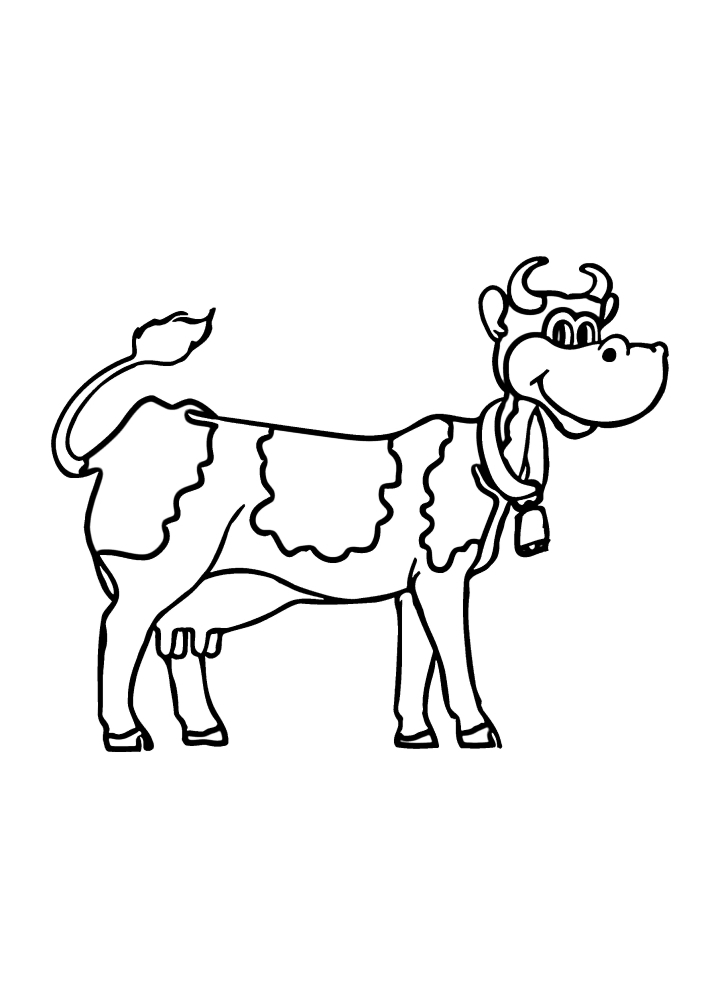Колокольчик нужен для того, чтобы корова не потерялась