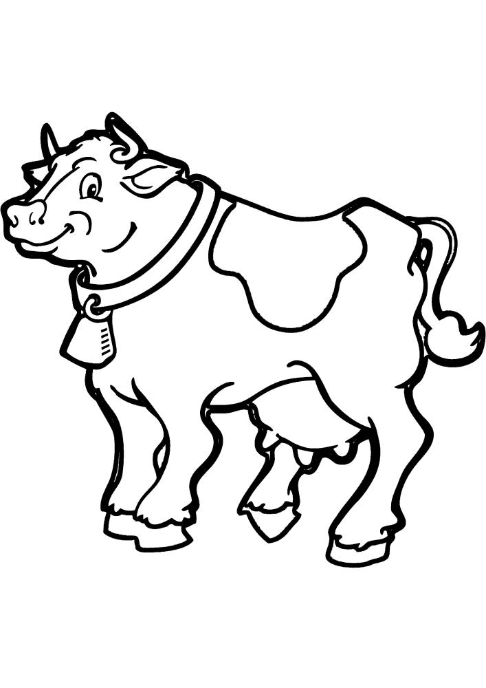 Сильная корова