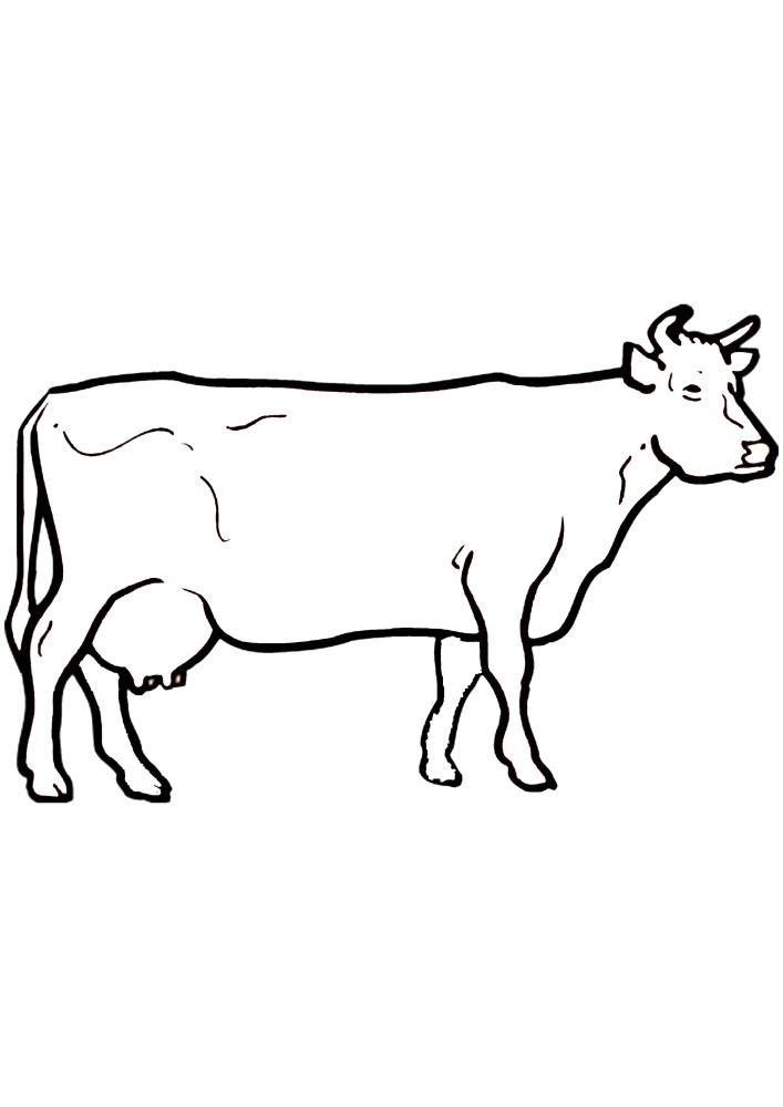 Длинная корова