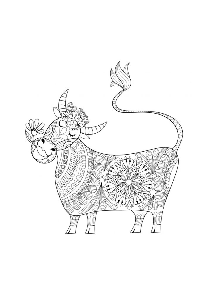 Антистресс корова