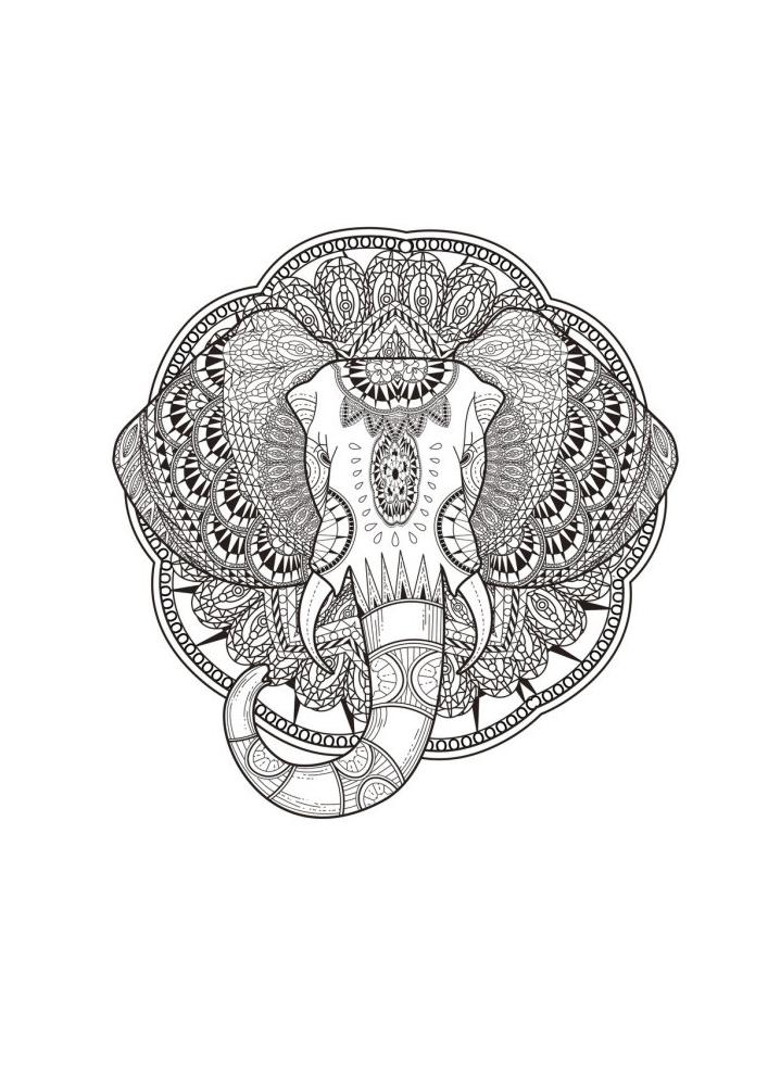Антистресс мордочка слона