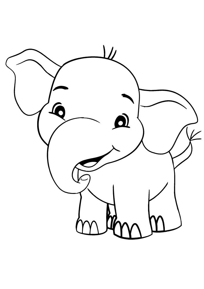 Улыбающийся слон