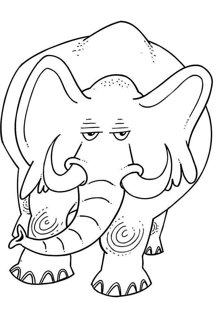 Серьёзный слон