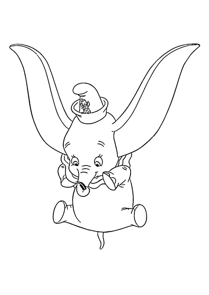 Дамбо умеет летать с помощью ушей