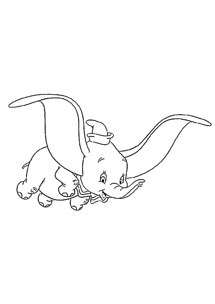 Летающий слонёнок - волшебство!
