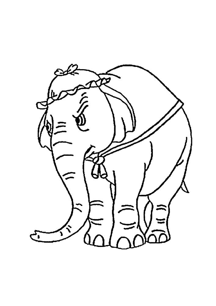 Злая слониха