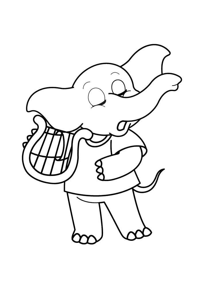 Музыкальный слоник