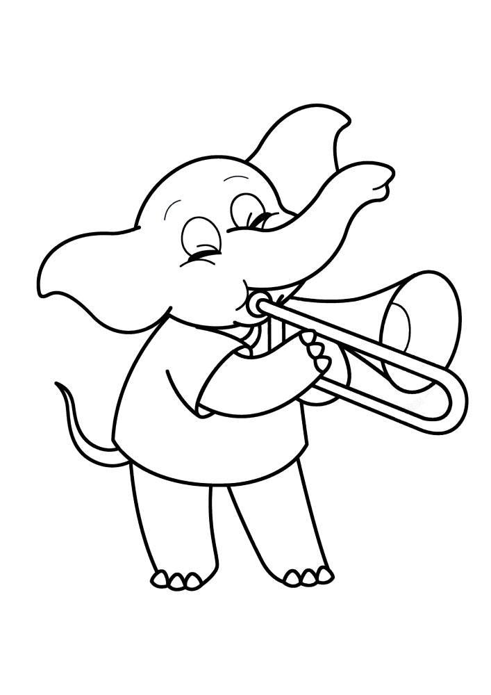 Талантливый слон