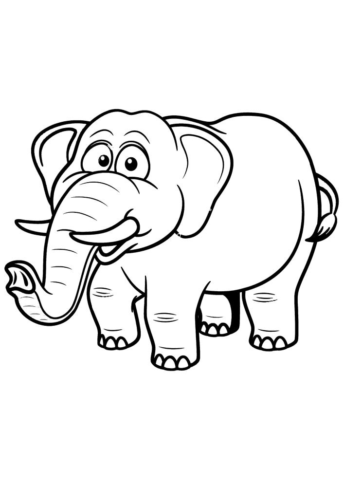 Толстый слоник