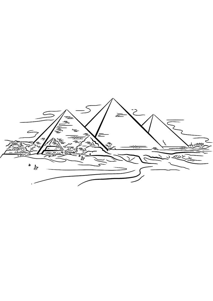 Египет - пирамиды
