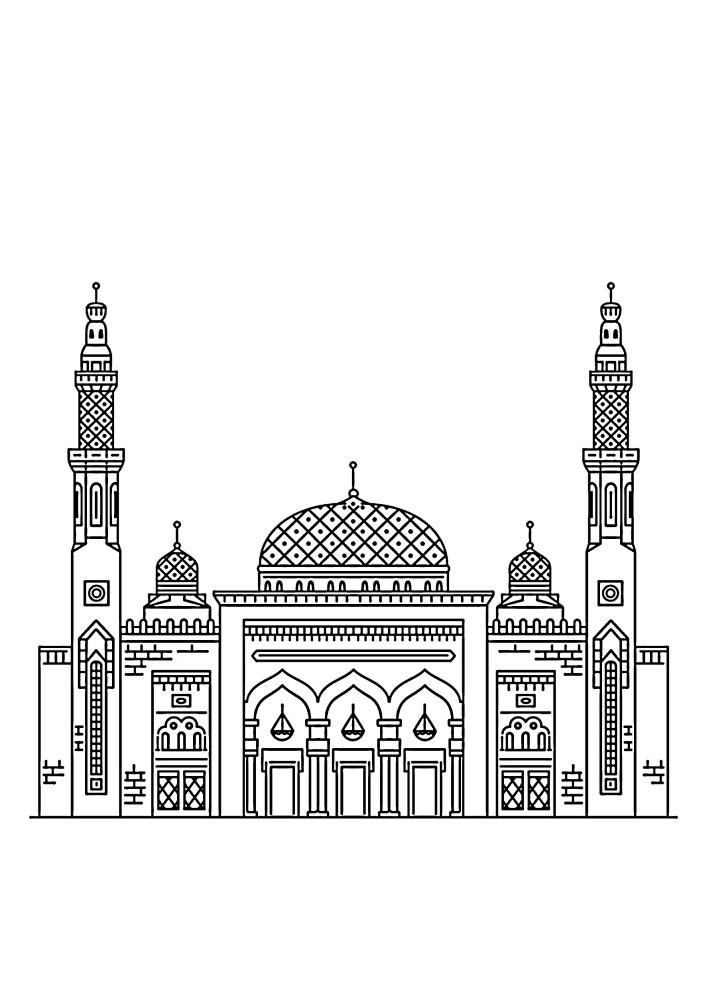 Тадж-Махал - мечеть