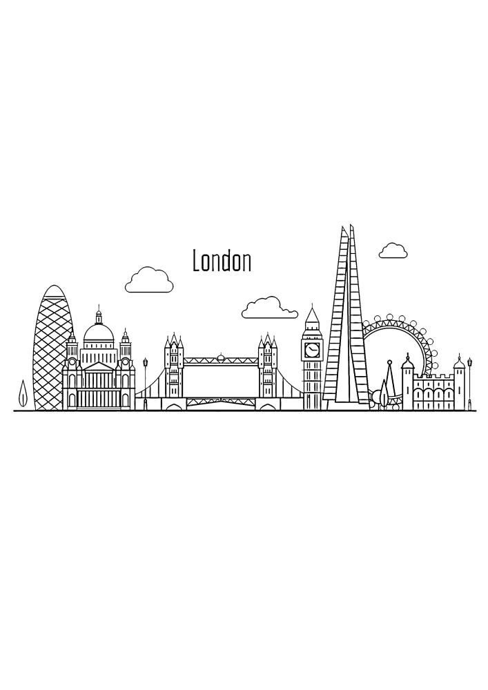 Лондон - маленькое изображение
