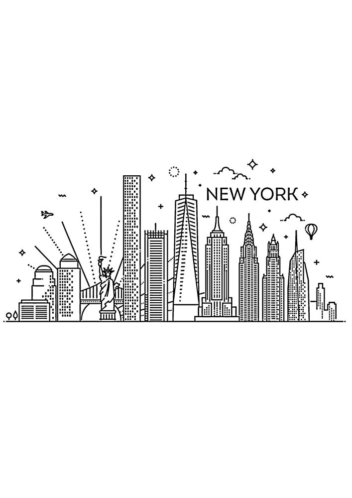 Маленькое изображение Нью-Йорка