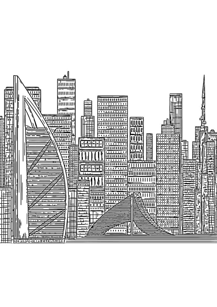 Дубай - один из самых невероятных мегаполисов в мире