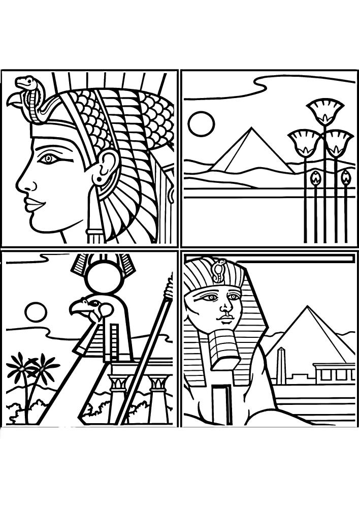 Четыре изображения Египта