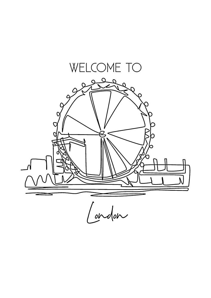 Добро пожаловать в Лондон
