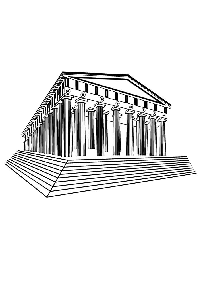 Парфенон - памятник в Афинах