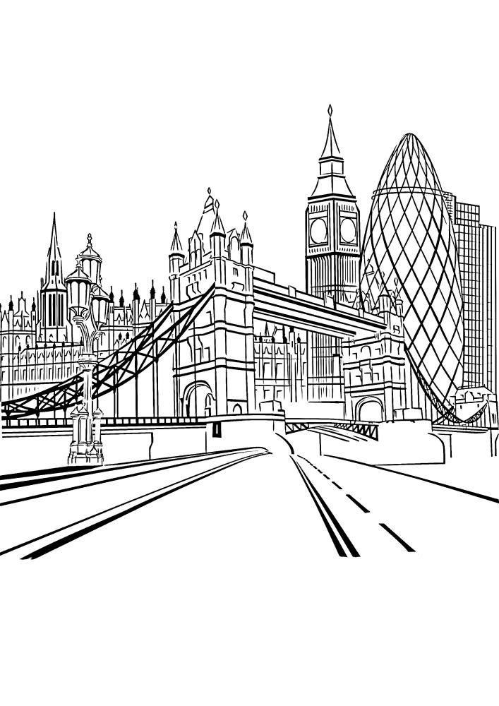 Дорога в Лондон