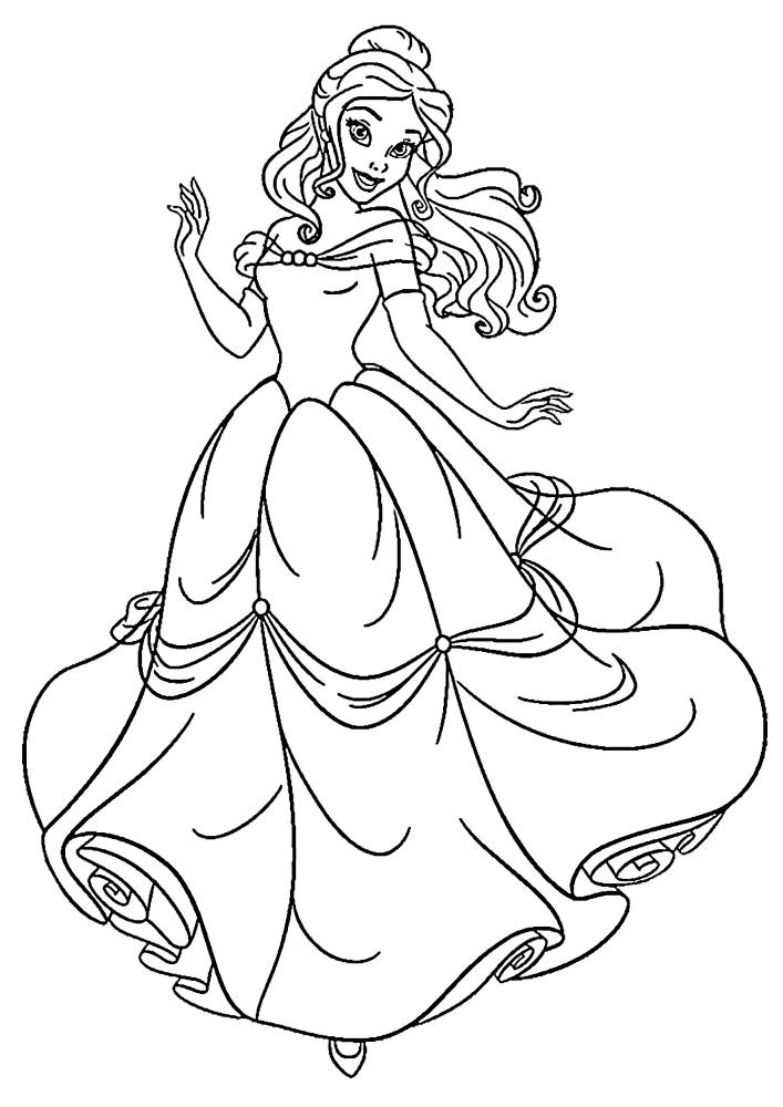 Модная принцесса Белль