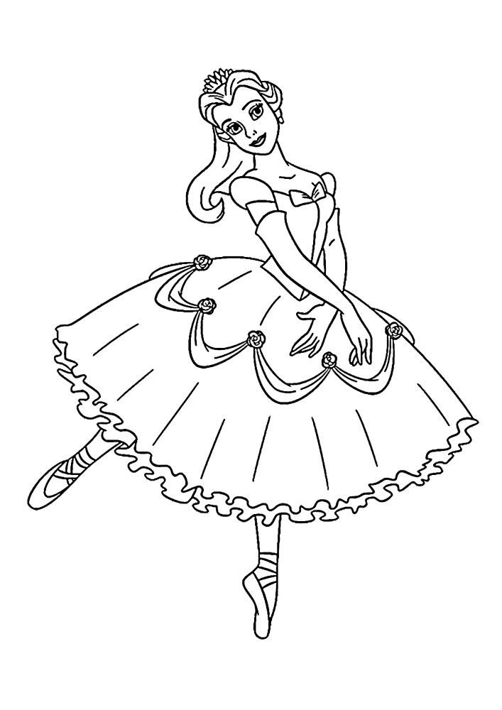 Белль танцует