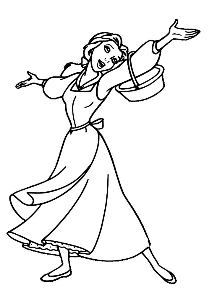 Обычная деревенская девушка, ставшая принцессой