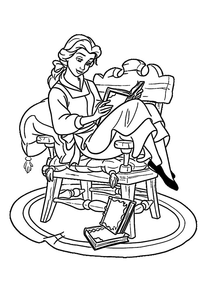 Белль читает книги - это очень важно