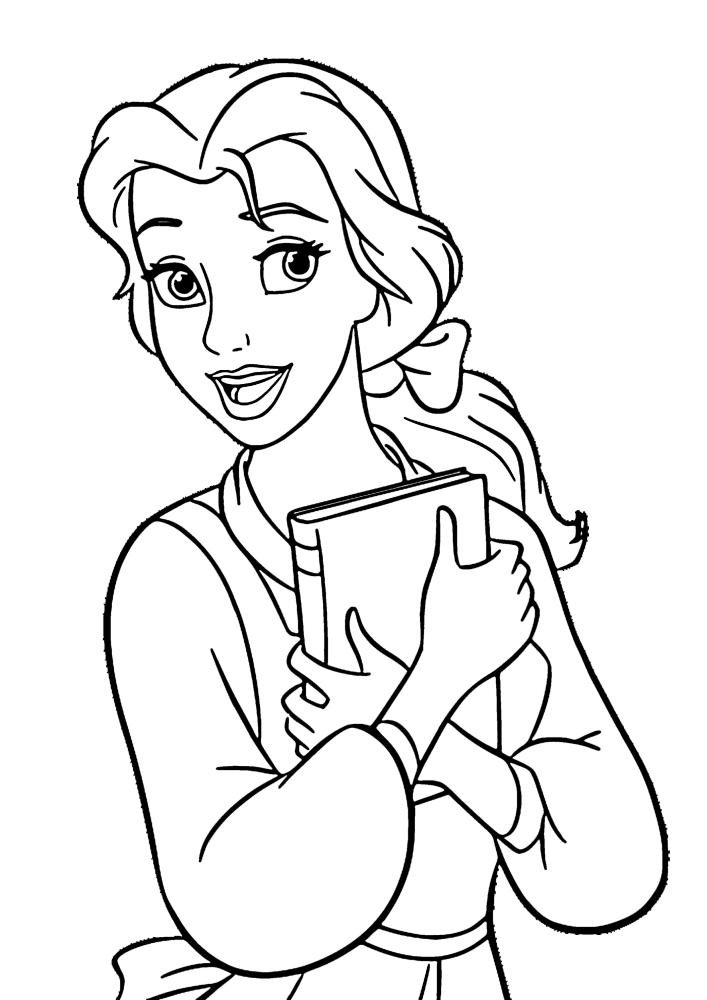 Белль - принцесса Дисней