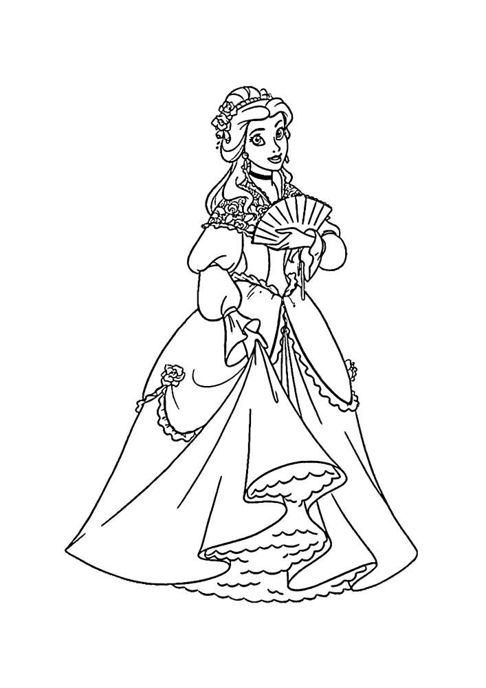 Принцесса пришла на бал