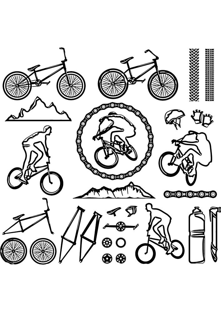 Интересные изображения, связанные с велосипедами
