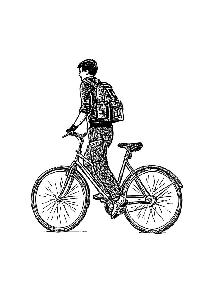 Для путешествия используют разные типы велосипедов