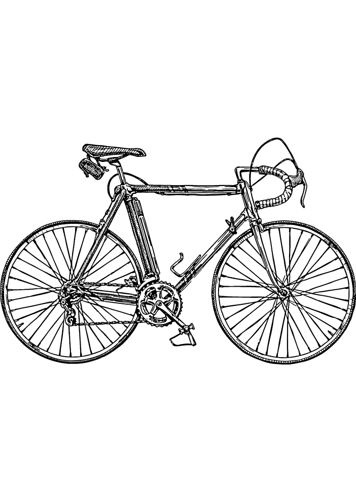 Велосипед для спортсменов