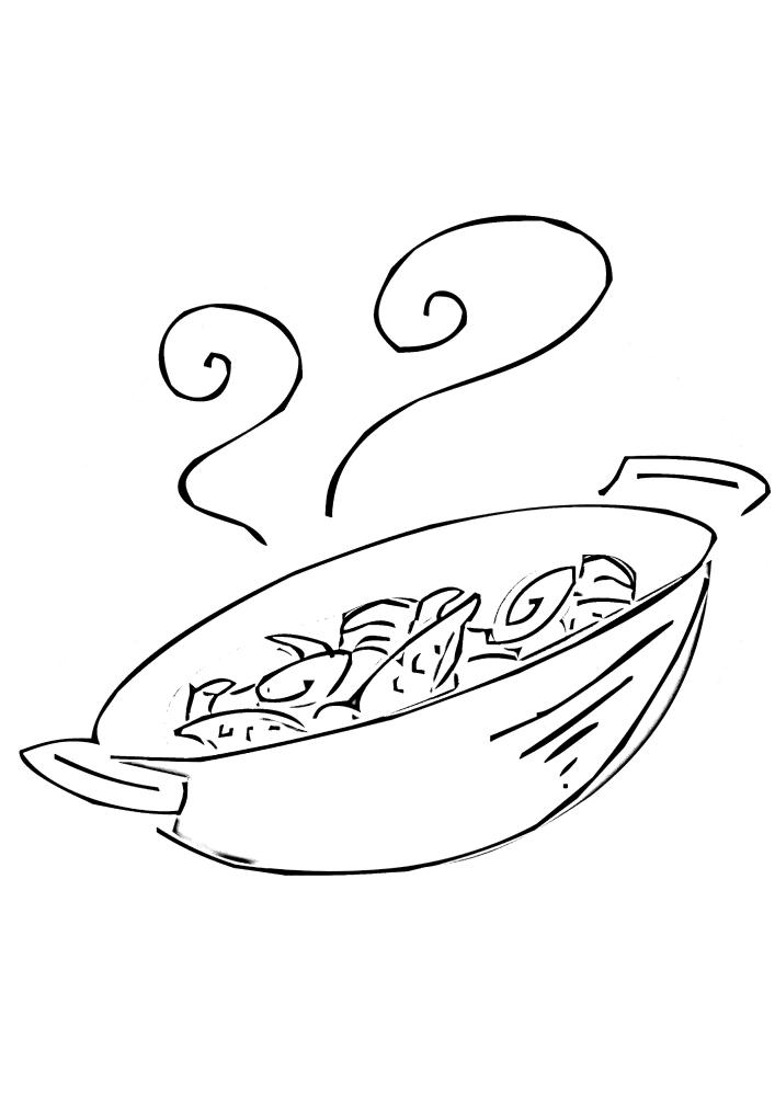 Еда в казане