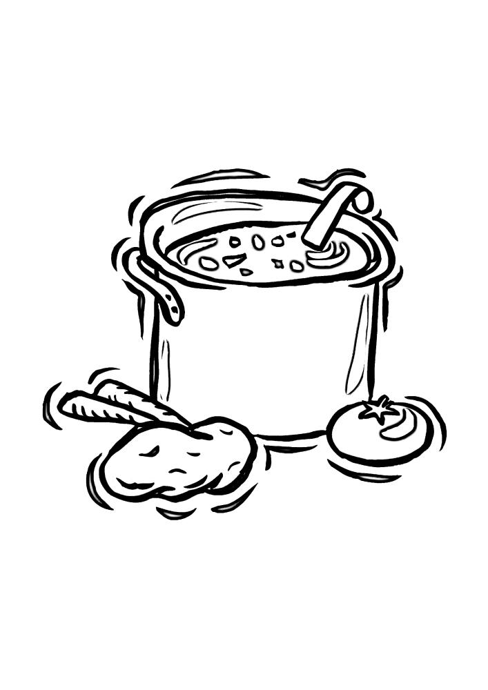 Готовка супа