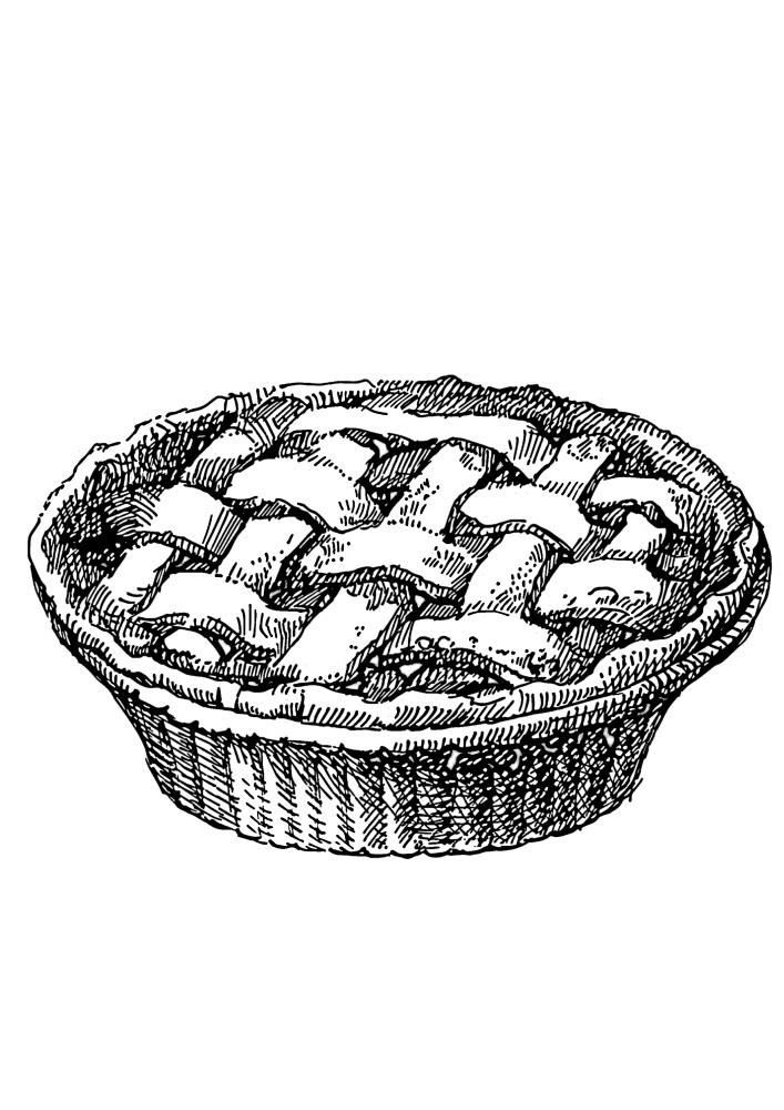 Вкусный пирог из духовки