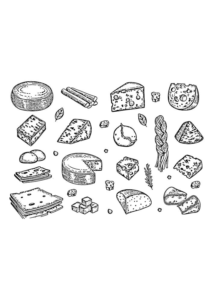 Сколько сыра в одном изображении!