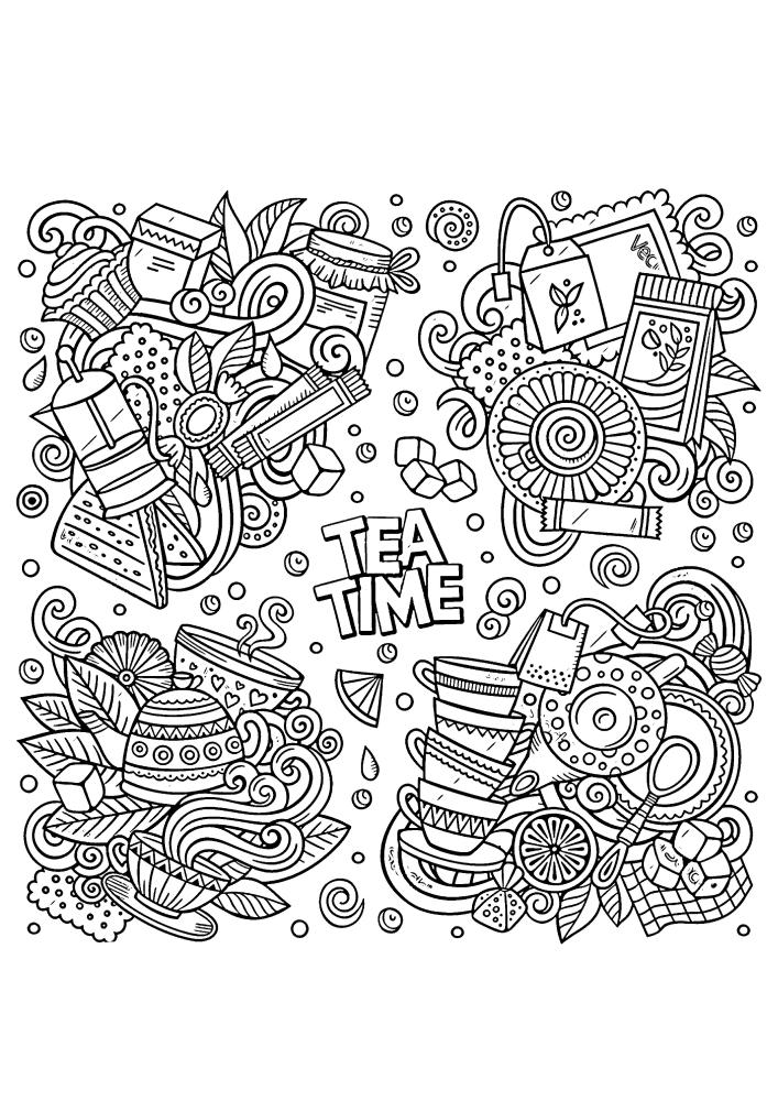 Время чаепития