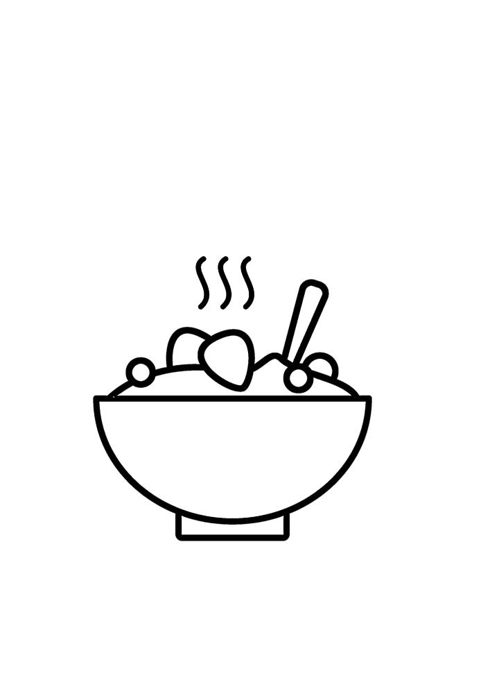 Тёплая еда