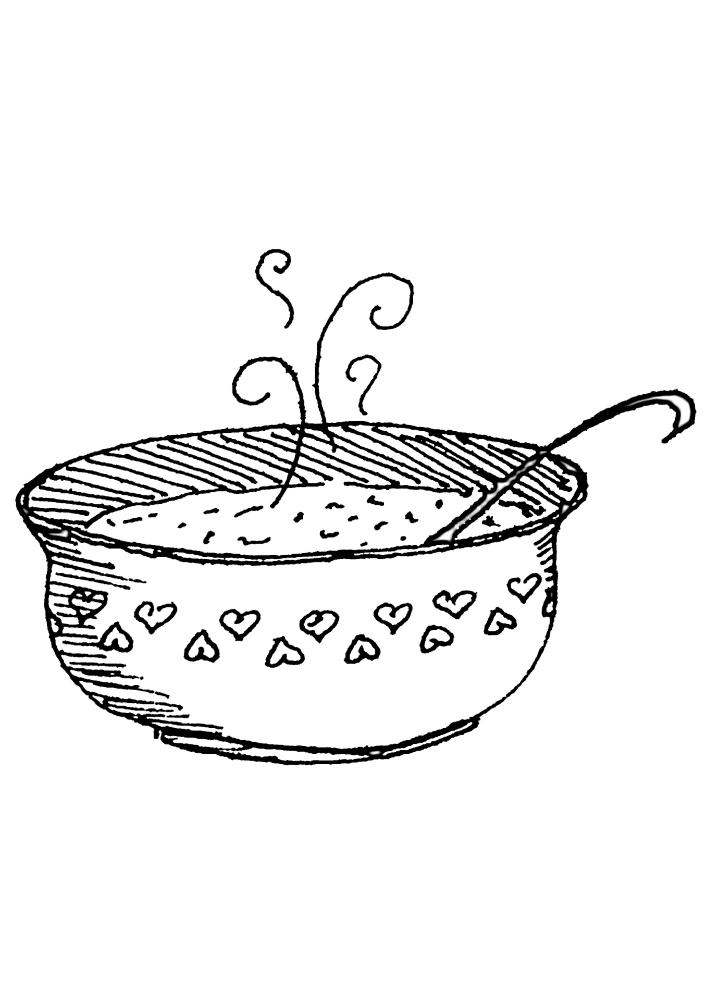 Горячее блюдо для всей семьи