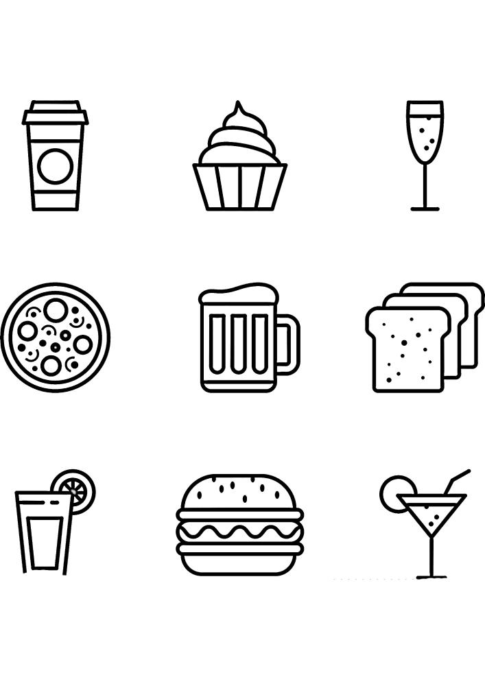 Напитки и еда