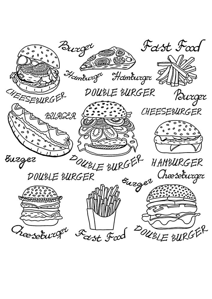 Фастфуд - вредная еда