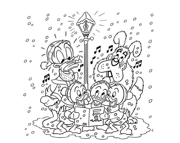 Новогодние раскраски с персонажами Дисней. 140 изображений - самая большая коллекция. Распечатать или скачать бесплатно.