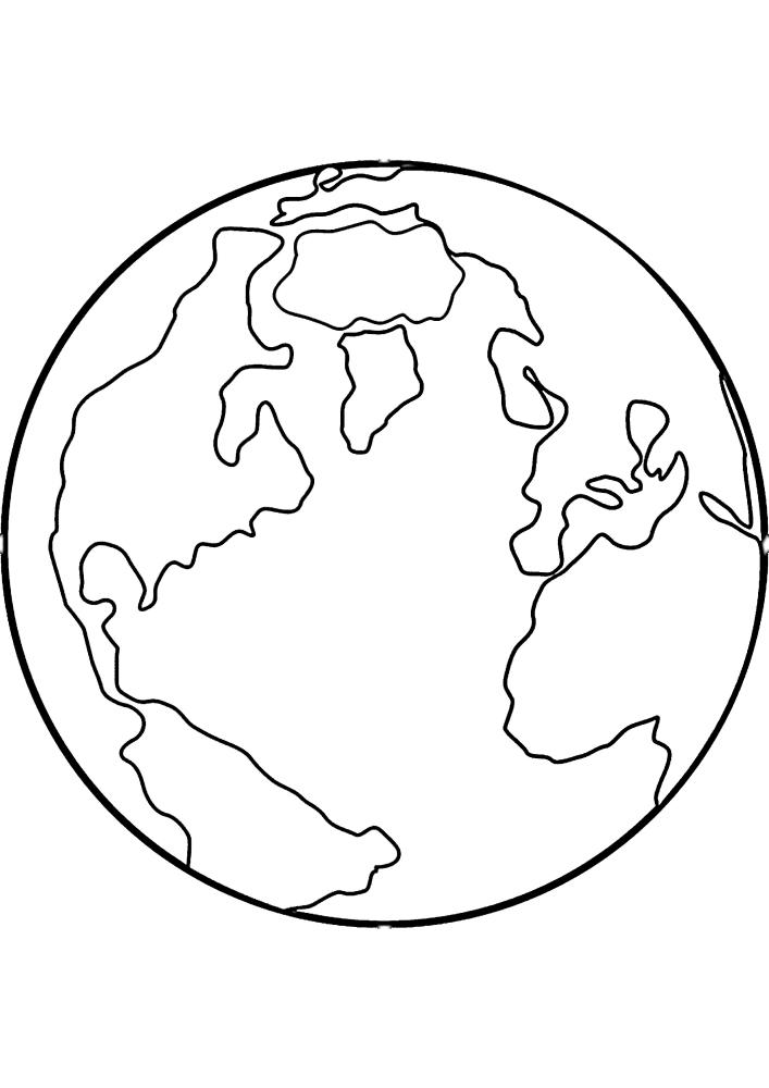 Планета Земля - наш дом