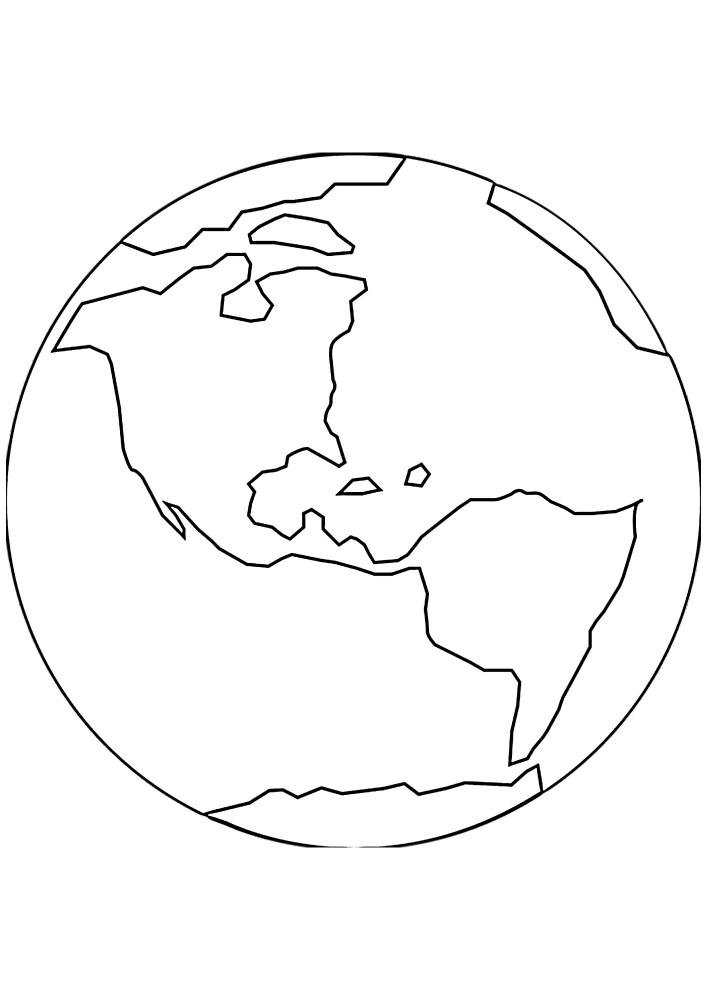 Это наша планета Земля
