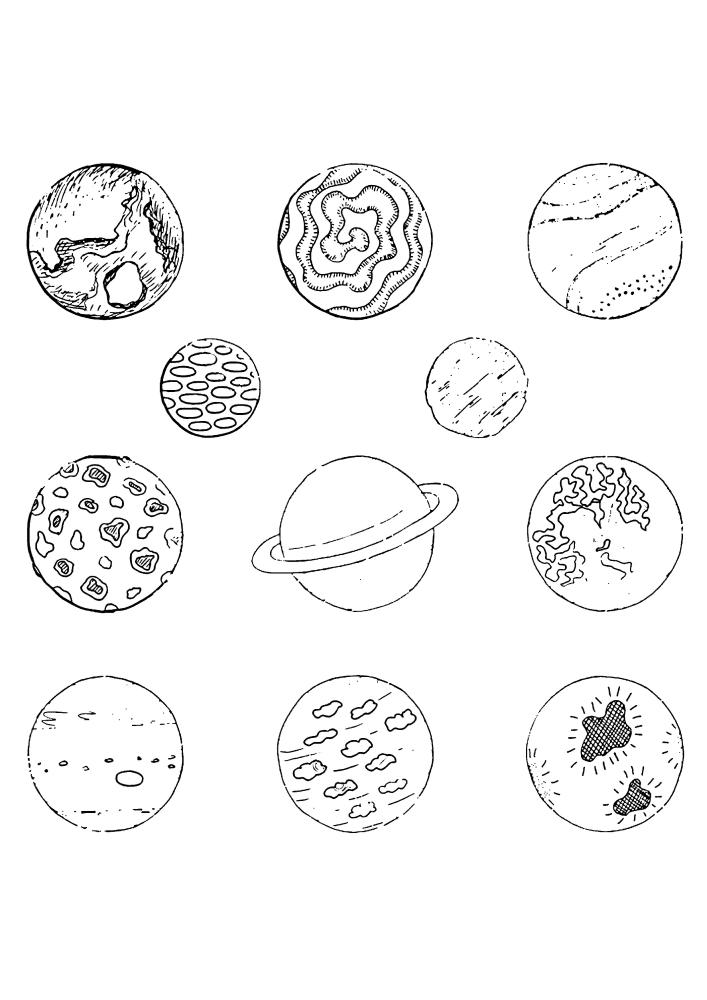 Все планеты Солнечной системы