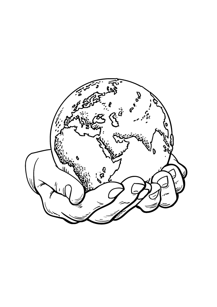 Нужно беречь нашу планету!