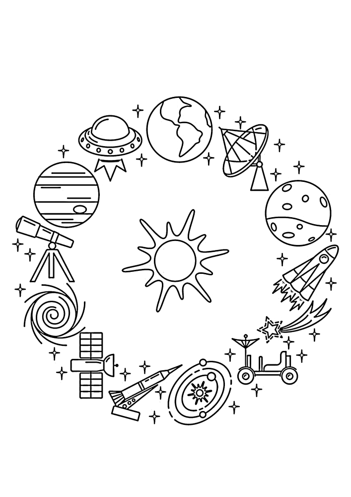 Объекты изучения вселенной